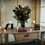 Auberge du Soleil Wedding Guest Book Table Design