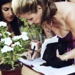 Wine Registry Wedding Guest Book Auberge du Soleil