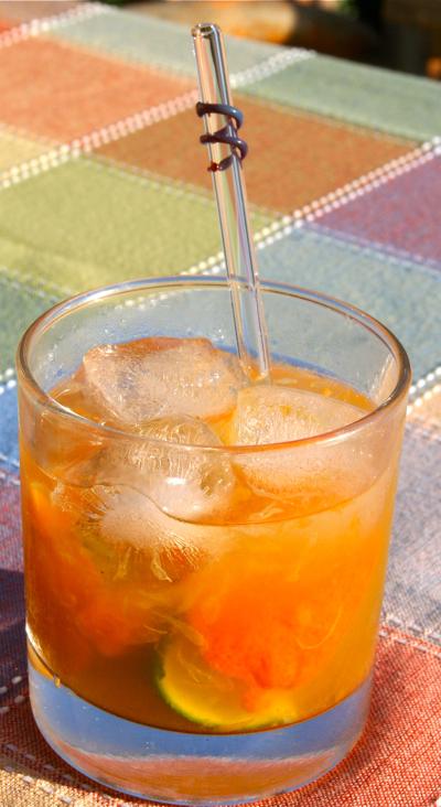 Specialty Cocktail Organic Margarita Loves Hangover
