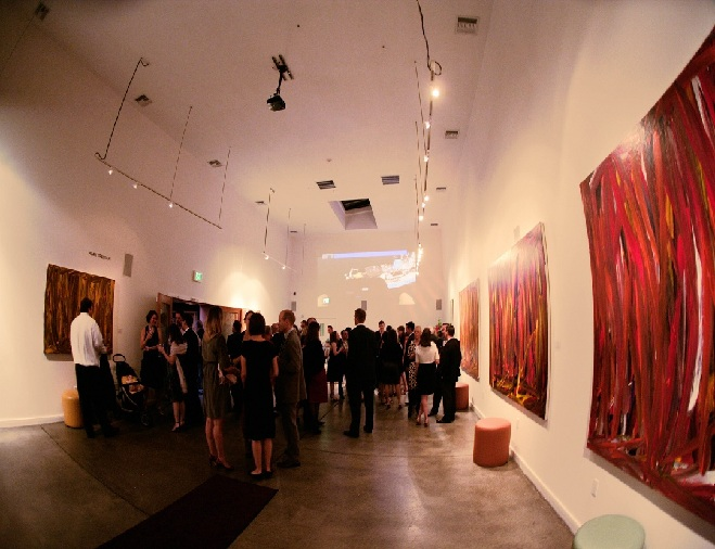 Art Gallery Event Foreign Cinema