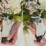 Bridal Bouquet with Locket Keepsake