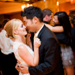 Bride and Groom First Dance at Marriott Torrance by Duane Peck Photography