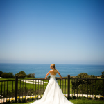Bride at Trump National Golf Course in Palos Verdes by Duane Peck Photography