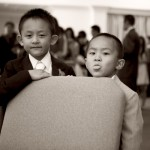 Candids of children at a wedding by Sheila Garvey