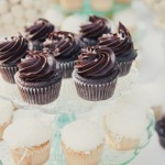 Chocolate Coconut Karas Cupcakes
