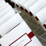 J Squared Events 2 in 1 Wedding Favor and Escort Card at Auberge du Soleil Rutherford CA
