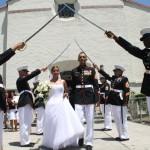 Marine Wedding Sword Ritual