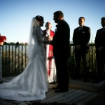 Napa valley wine country sunset wedding ceremony J Squared Events