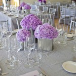 Pewter and purple wedding reception at Las Positas Vineyards by Sheila Garvey Photography J Squared Events