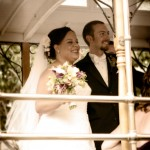 San Francisco cable car wedding transportation Sheila Garvey Photography