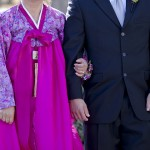 Traditional Korean wedding dress in pink Sheila Garvey Photography J Squared Events