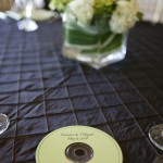 Wedding CD Favor with Custom Label