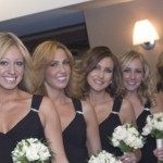Black Bridesmaids Gowns