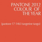 Pantone Color of the Year 2012 Tangerine Tango