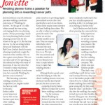 Jonette Jordan of J Squared Events Auburn Avenue Magazine Article