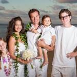 Antonio Sabato Jr with wife Cheryl Moana Marie and children Jack Mina Antonio III
