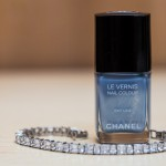 Cheryl Moana Marie Sabato Wedding Day Nail Color Chanel Sky Line