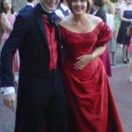 Red Wedding Gown Theme Wedding