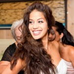 Singer Cheryl Moana Marie Sabato Before Wedding Ceremony