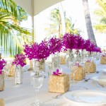 Table Design by J Squared Events for Antonio Sabato Hawaii Wedding