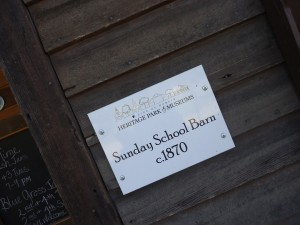 City of Dublin Heritage Park and Museums Sunday School Barn