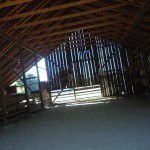 Inside Kolb Hay Barn Heritage Park and Museums Dublin