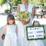 Dublin Heritage Park Barn Wedding DIY Flower Girl Signage