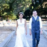 Wedding Portrait in Dublin Pioneer Cemetery
