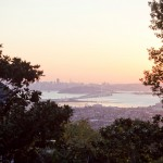 0016 view of the san francisco Bay Bridge from highlands country club in oakland by sheila garvey photography
