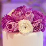 0055 lilac and lavender rose cake topper