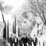 011 black and white groomsmen and groom at Villa Toscana Lafayette CA wedding by Gladys Jem Photography and J Squared Events