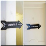 028 Dinner and Bathroom DIY Chalkboard Directional Arrow Signs by Gladys Jem Photography and J Squared Events Planning and Design