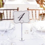 037 simple elegant table numbers at Villa Toscana Lafayette CA wedding reception by J Squared Events Planning and Design and Gladys Jem Photography