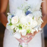 08 Brides bouquet of white roses by Floravida and Gladys Jem Photography a J Squared Event
