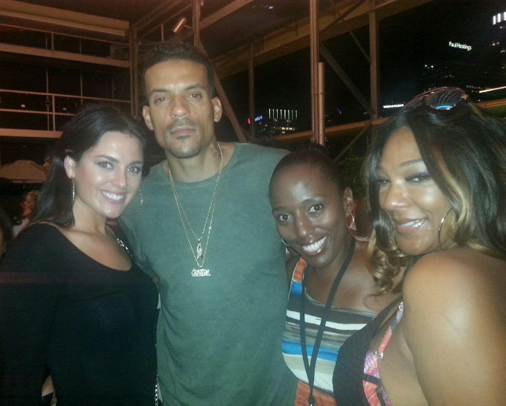 Memphis Grizzlies Matt Barnes Athletes vs Cancer Charity Pool Party with Jonette Jordan of J Squared Events